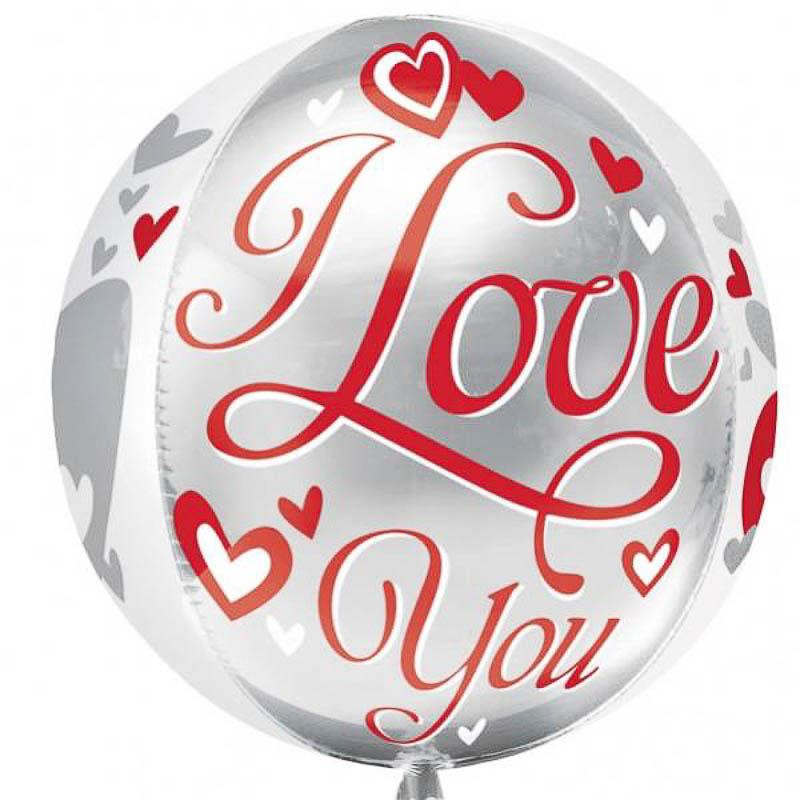 Globo esfera I love you