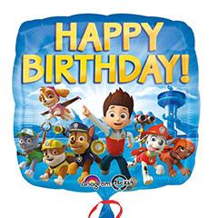 Globo Patrulla Canina Happy Birthday