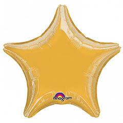 Globo estrella Dorada