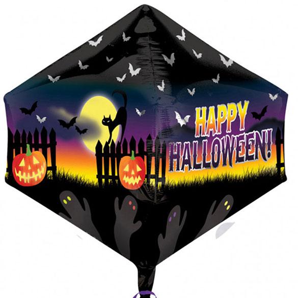 Globo metálico paisaje Halloween