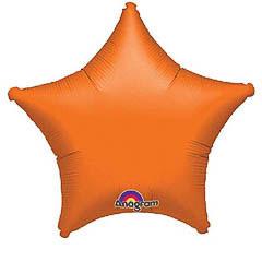 Globo estrella Naranja