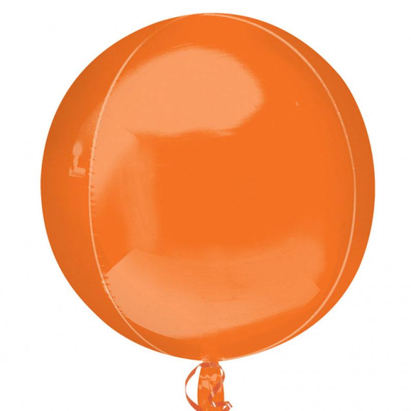 Globo esfera naranja
