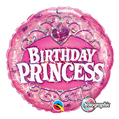 Globo Birthday Princess