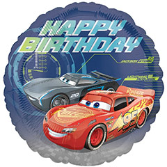 Globo Happy Birthday Cars