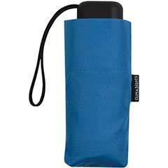 Paraguas Bisseti plegable mini señora azul marino