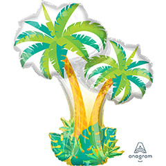 Globo Palmeras Tropicales