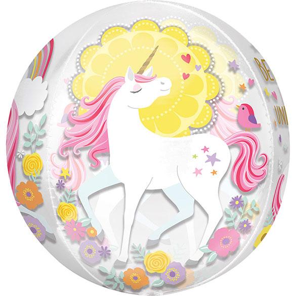 Globo esfera Unicornio