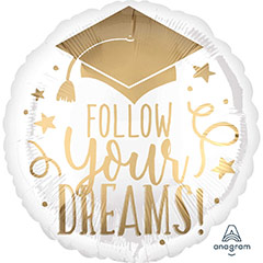 Globo Follow Your Dreams Grad