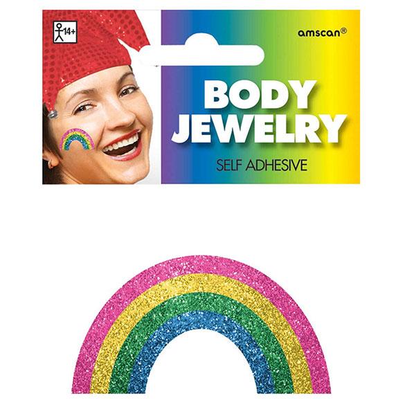 Adhesivo arco iris