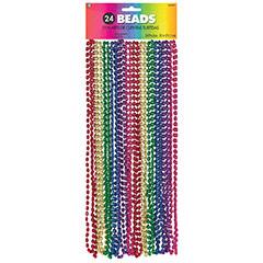 Collares de cuentas arco iris