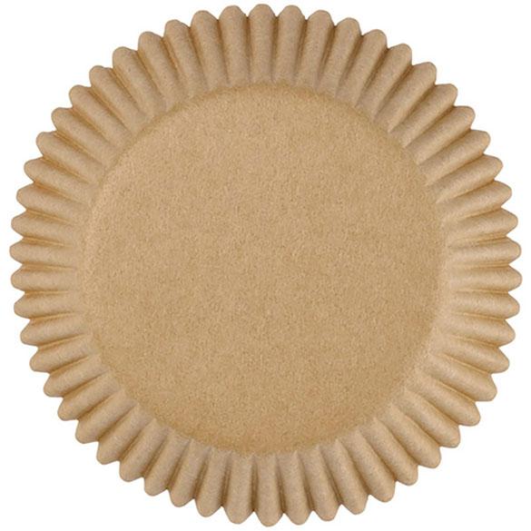 Cápsulas mini cupcakes beige Wilton, Pack 100 u.