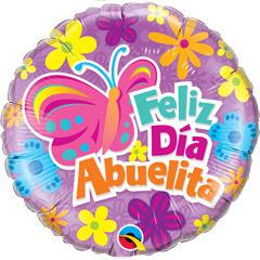 Globo Feliz día Abuelita