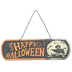Letrero Happy Halloween