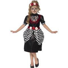 Disfraz esqueleto dulce infantil