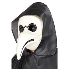 Máscara Doctor Peste Blanca