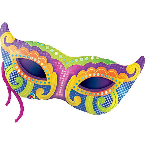 Globo antifaz Carnaval