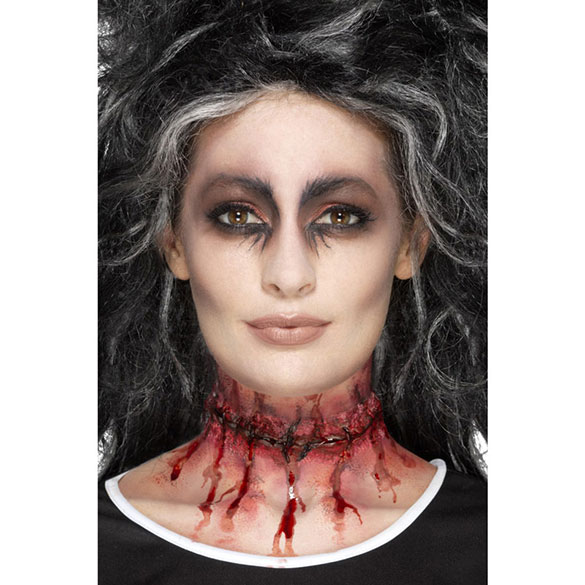 Maquillaje herida adhesivo látex
