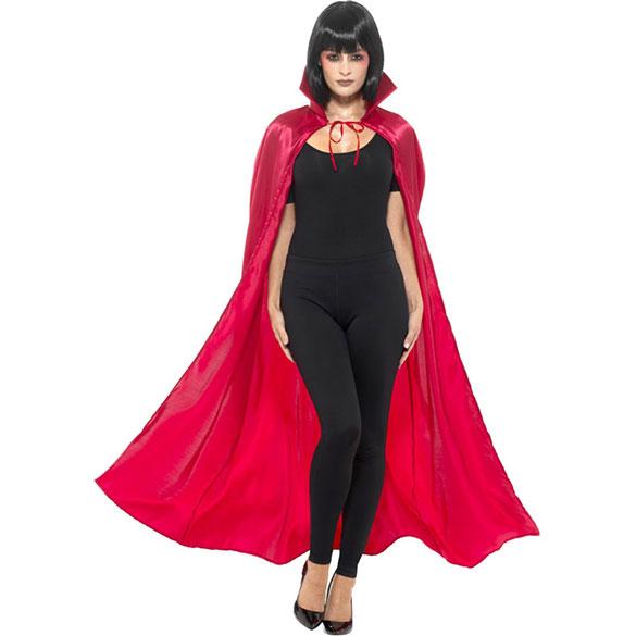 Capa roja de seda