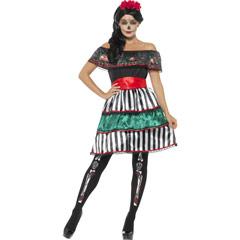 Disfraz muñeca mejicana Día de los Muertos - Ítem