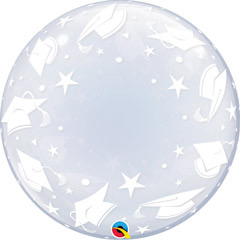 Globo Burbuja Graduación burbuja