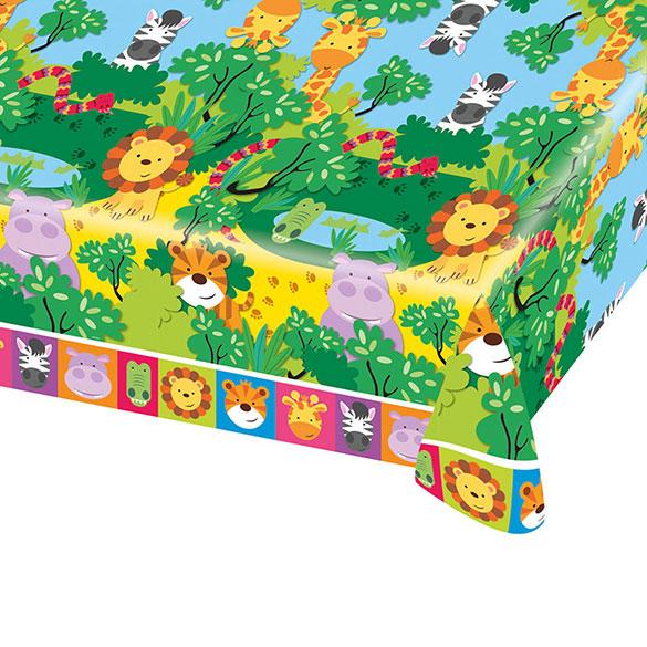 Mantel Cumpleaños 259 x 137 cm plástico, Pack 1 u.