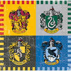 Servilletas Harry Potter 25 x 25 cm, Pack 16 u.