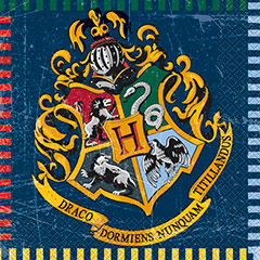 Servilletas Harry Potter 33 x 33 cm, Pack 16 u.