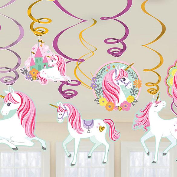 Decoración techo Unicornio