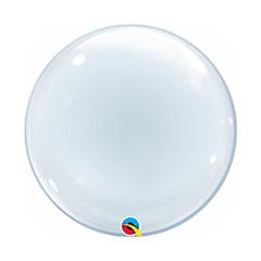 Globo Burbuja de látex transparente liso