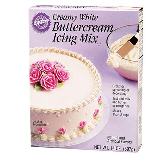 Crema de mantequilla preparada, Wilton