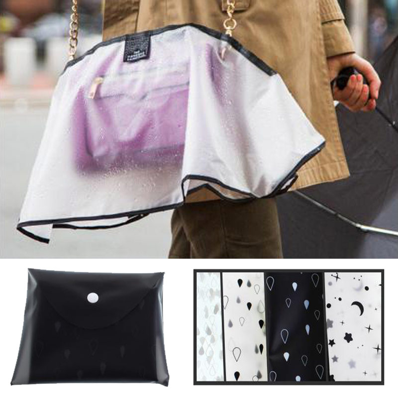 Capelina funda protectora para bolso contra la lluvia