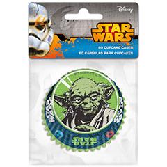 Cápsulas cupcakes Star Wars, Pack 60 u.