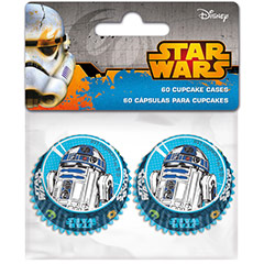 Cápsulas mini cupcakes Star Wars, Pack 60 u.