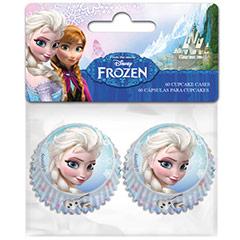 Cápsulas mini cupcakes Frozen, Pack 60 u.