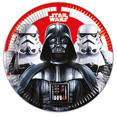 Platos Star Wars 23 cm, Pack 8 u.