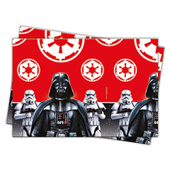 Mantel Star Wars 180 x 120 cm plástico, Pack 1 u.