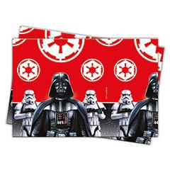 Mantel Star Wars 180 x 120 cm plástico, Pack 1 u.