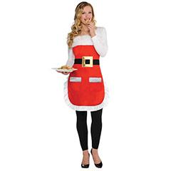 Delantal Navidad, Modelo Mamá Noel
