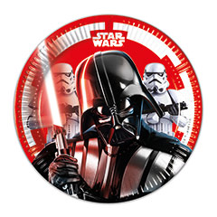 Platos Star Wars 20 cm, Pack 8 u.
