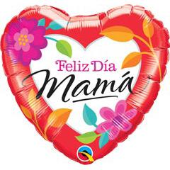 Globo Feliz día Mamá