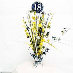 Centro de mesa 18 años