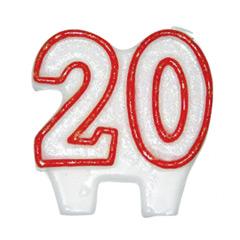 Vela cumpleaños 20 años