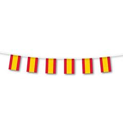 Guirnalda banderas de España 7 metros