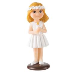 Figura decorativa niña comunión