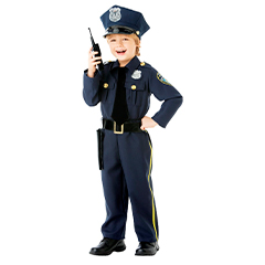 Disfraz de policia infantil