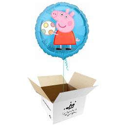 Globo Peppa Pig en caja sorpresa