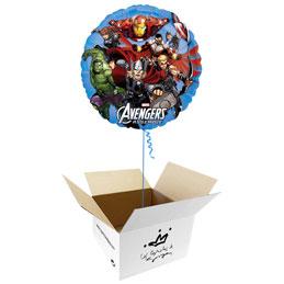 Globo Los Vengadores en caja sorpresa