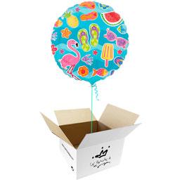 Globo Tropical en caja sorpresa