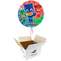 Globo PJ Masks en caja sorpresa