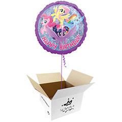 Globo My Little Pony en caja sorpresa